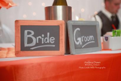 The Bride & Groom!
