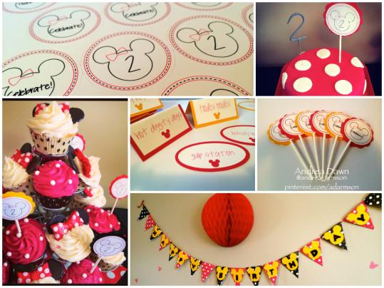 A Minnie Mouse Birthday!