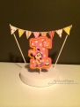 Baby Minnie Cake Topper
