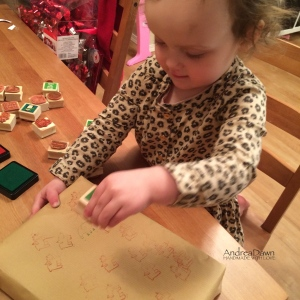 Wrapping with Kids