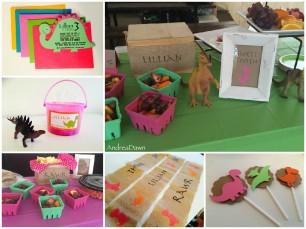 Dino Birthday Party