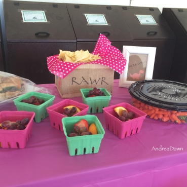 Snack Bar Styling for a Dino 3rd Birthday