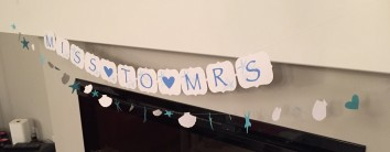 Miss to Mrs Beach Themed Bridal Shower