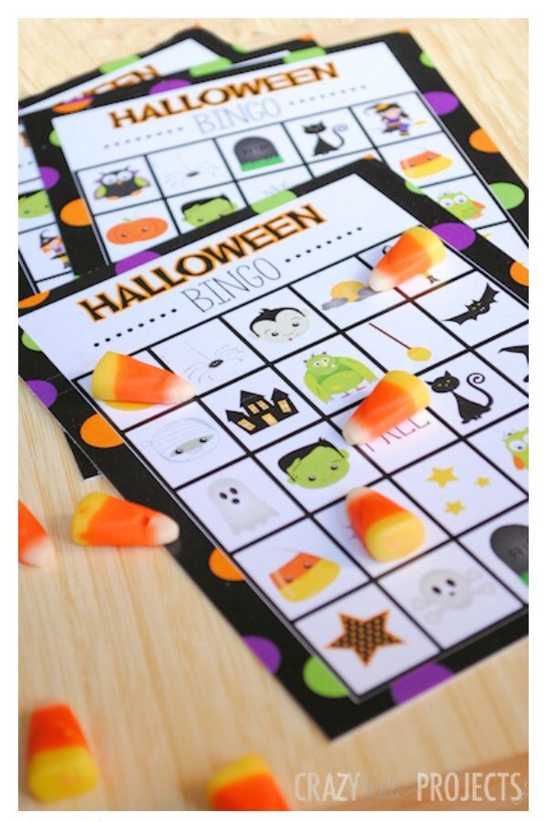 Halloween Free Printable Bingo