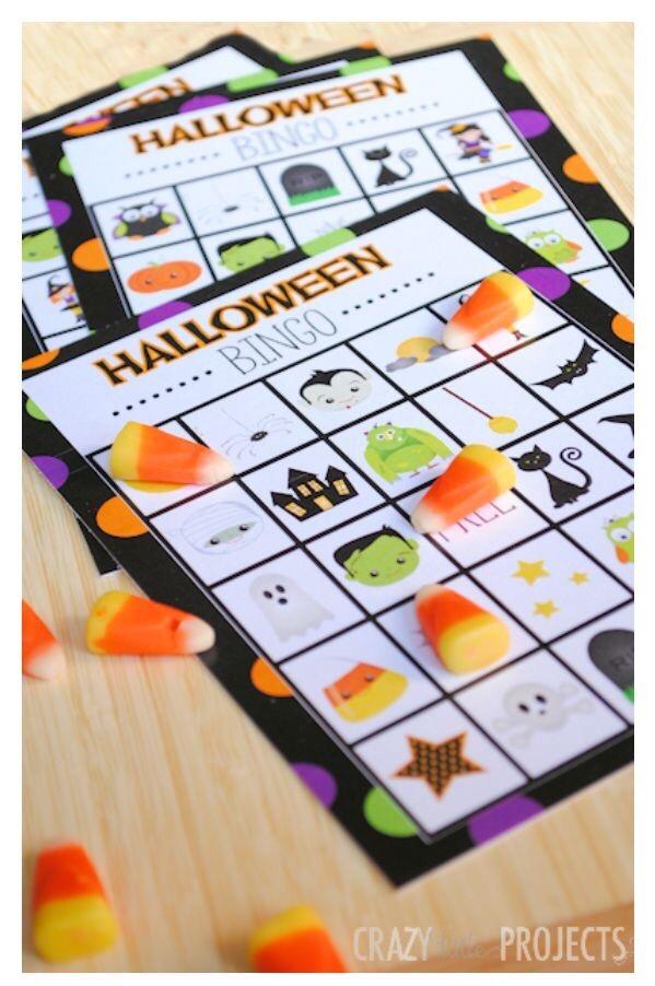 Halloween Free Printable Bingo