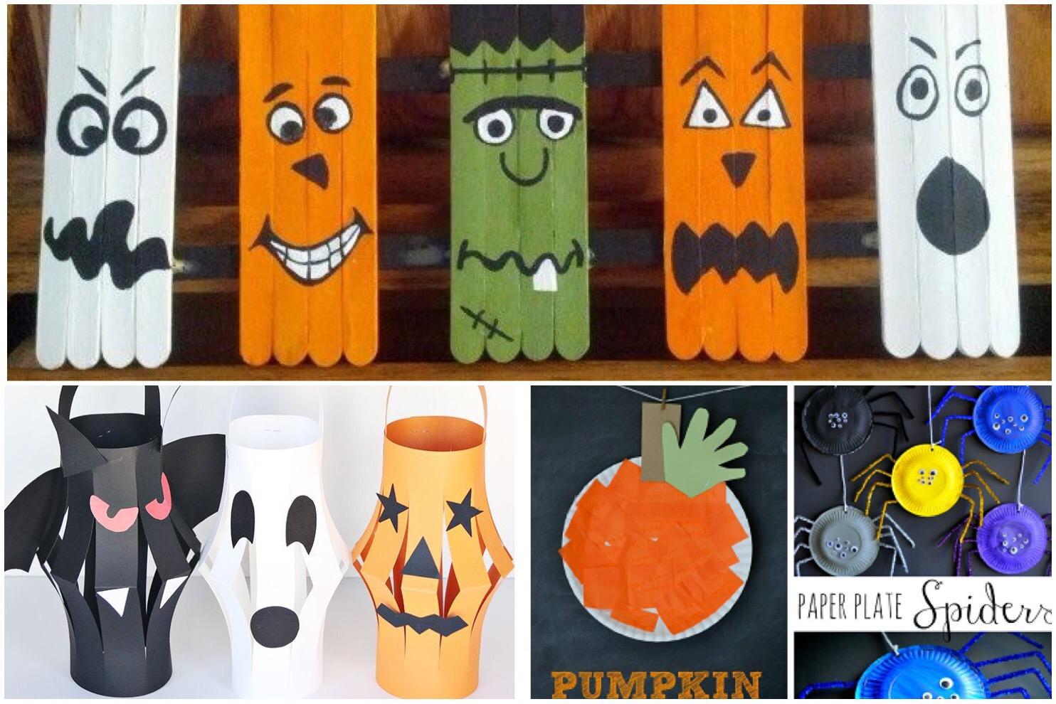 Easy, Kids Halloween Crafts