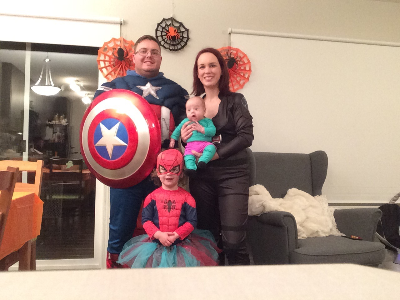 Marvel Avengers Halloween Costumes for Family