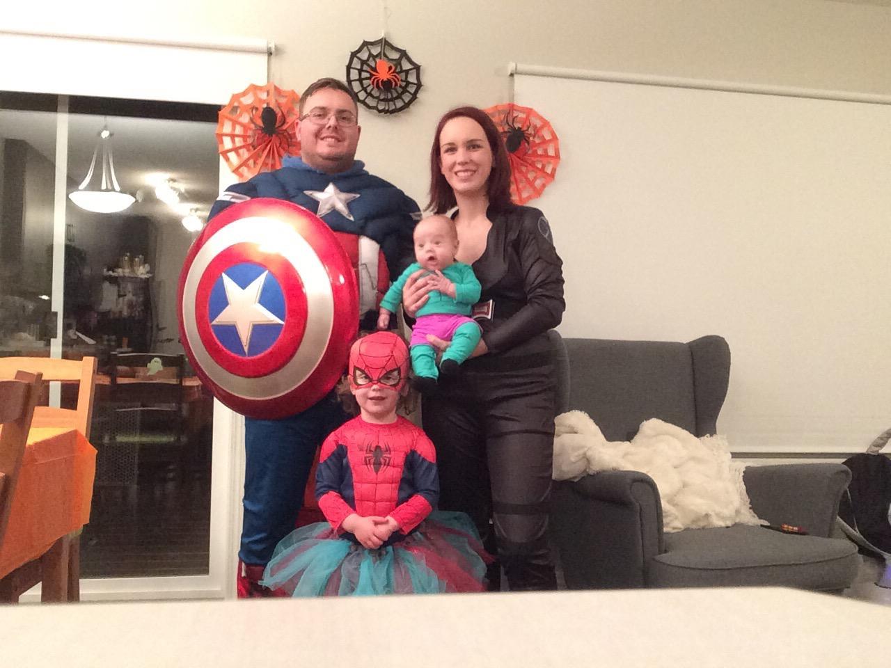Marvel Avengers Halloween Costumes for Family