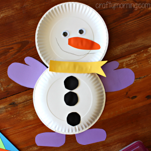 Paper Plate Craft for Toddlers