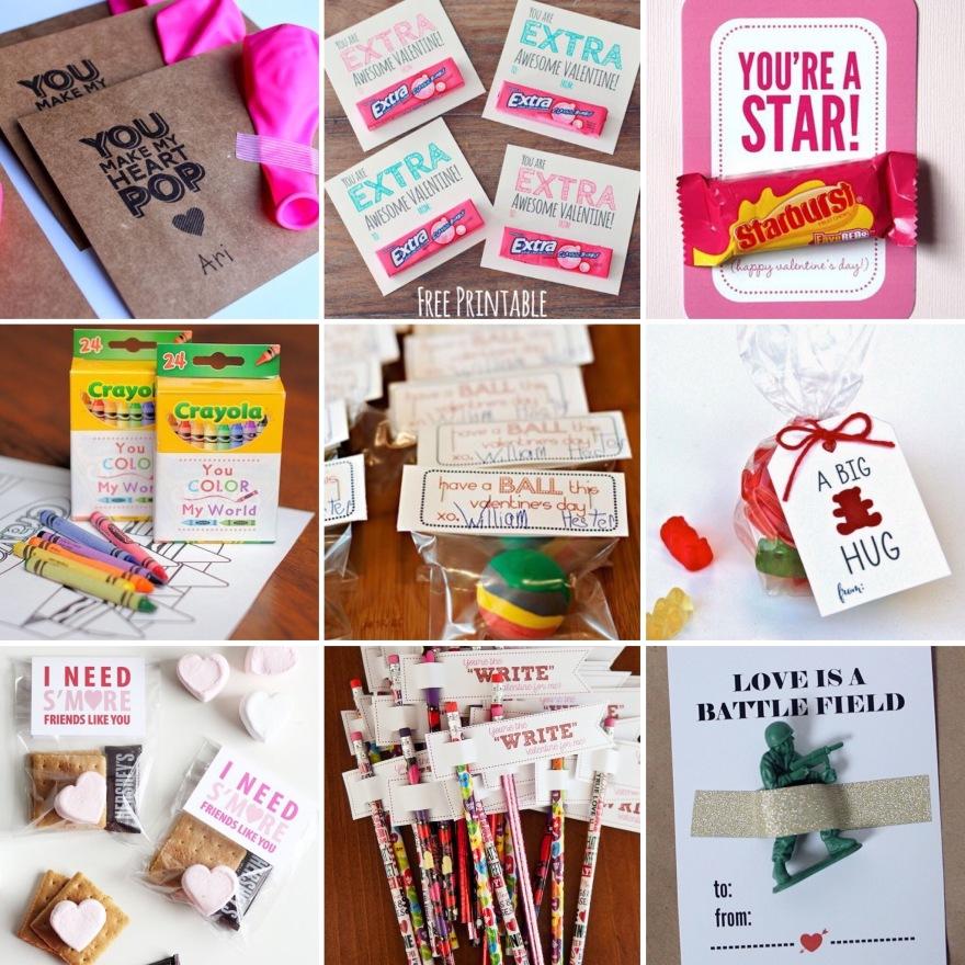Kids Valentines DIY Printables