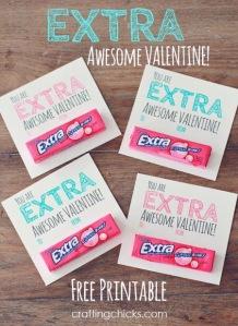 DIY Printable Valentines Card
