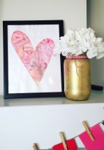 Valentines Day Painting Toddler Craft DIY Tutorial