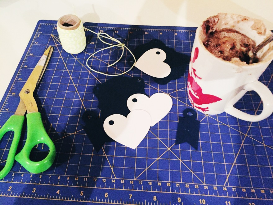 Crafting & Mug Cakes, Perfect Evening