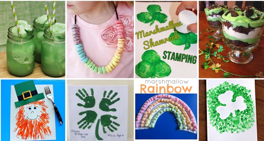 Crafts, Food and Ideas for Saint Patricks Day
