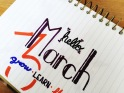 Hand Lettering - March