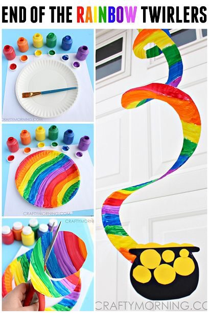 Rainbow and Pot of Gold Activity for Kids