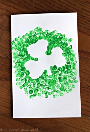 Shamrock Activity for Kids, Toddlers & PreSchoolers