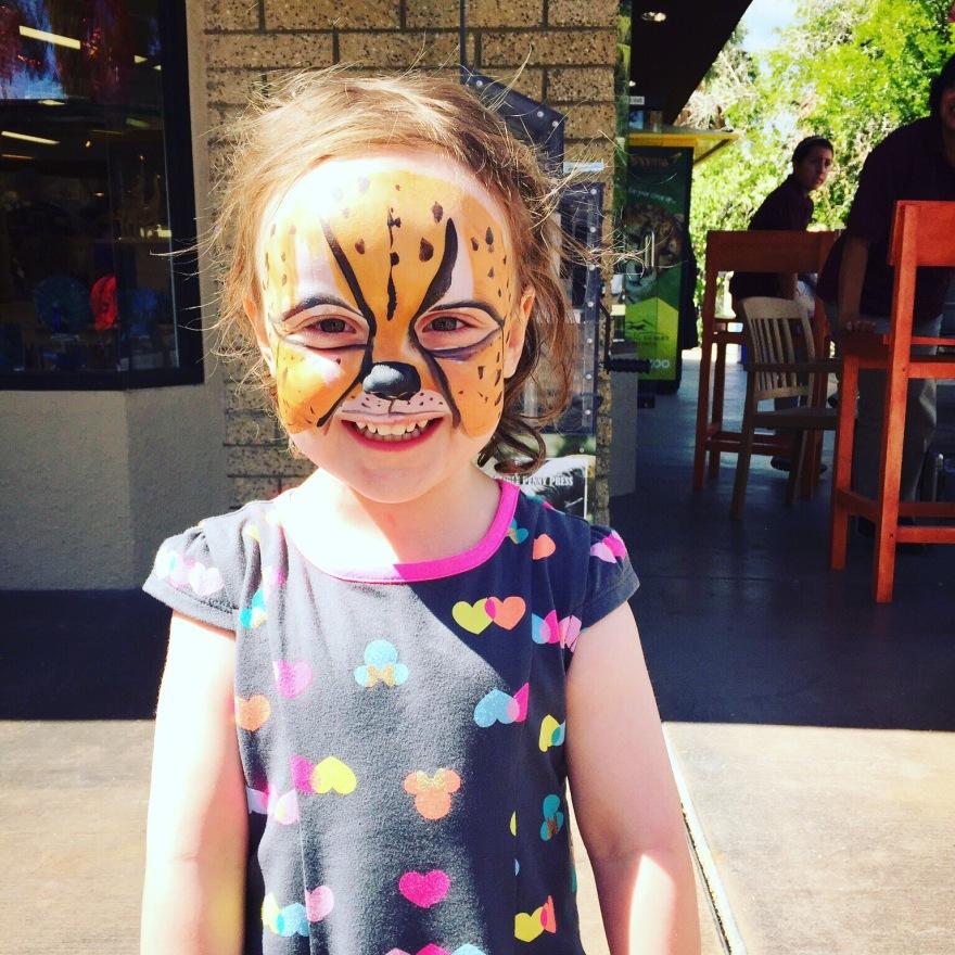 Face Paint at Living Desert Zoo