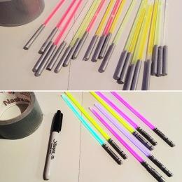 Light Saber Glow Stick DIY