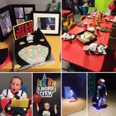 LEGO Star Wars Laser Tag 4th Birthday Party