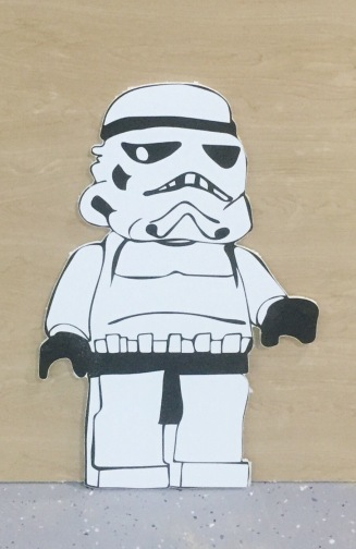 Life Size LEGO Star Wars Figure for Birthday Party Decor