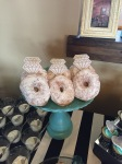 DIY Cake/Sweets Stand Donuts Tiffany Blue Edmonton Alberta Canada