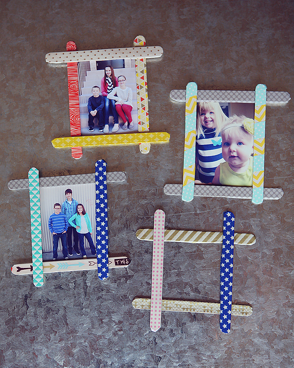 kids-craft-popsicle-stick-frames