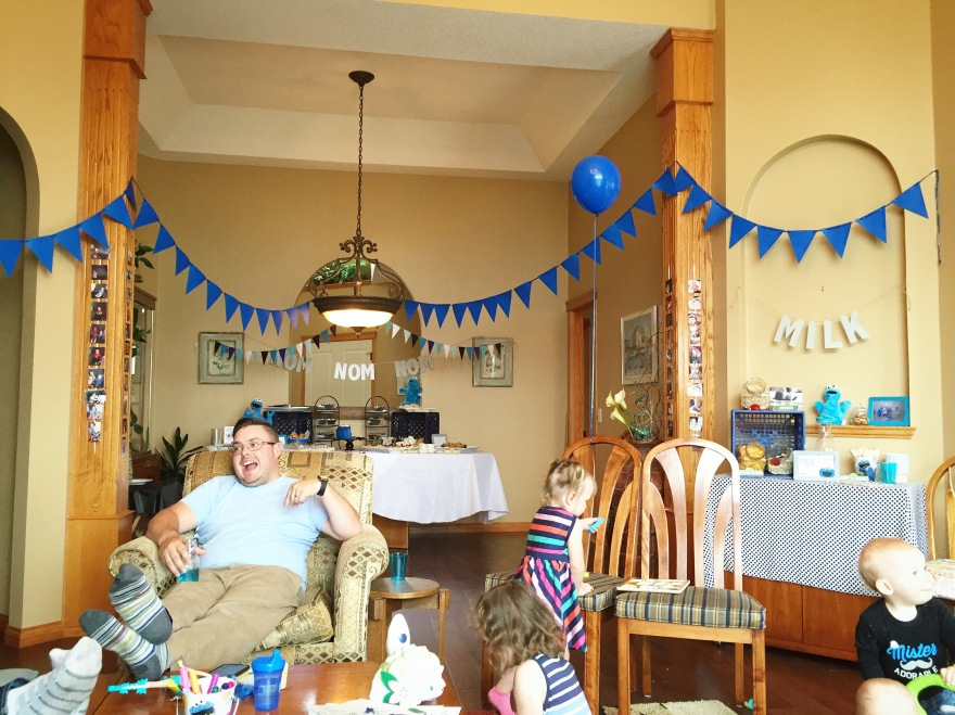 Cookie Monster First Birthday YourAndreaDawn Party Planner