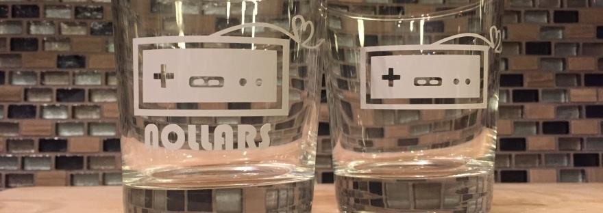 AndreaDawn Custom Creations Custom Nintendo Controller Glassware