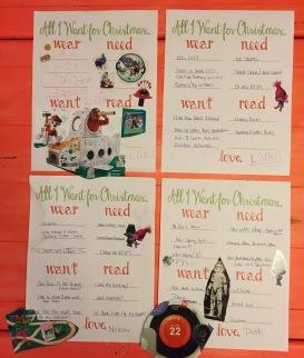 Christmas Gift Wish List Santa Free Printable